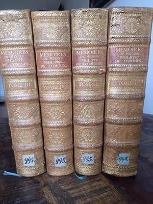 Memoires de Messire Philippe de Comines, Seigneur: Commines, Phillippe de