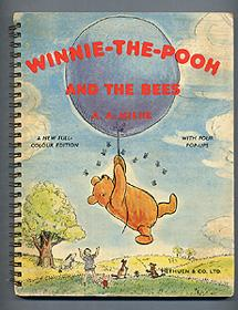 WINNIE-THE-POOH AND THE BEES. A Pop-Up Picture: A. A. Milne
