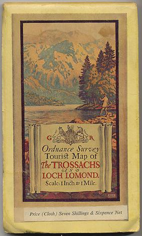 Tourist Map of The TROSSACHS and LOCH LOMOND