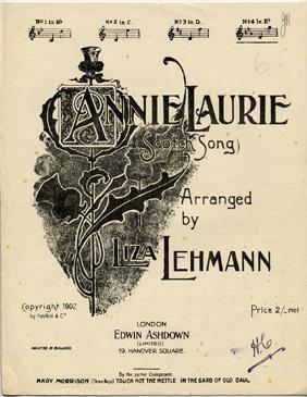 ANNIE LAURIE: LIZA LEHMANN (Arranged)