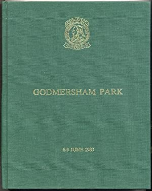 CHRISTIES GODMERSHAM PARK, 6-9 June 1983. Volume 1, Objects of Art, Furniture, Porcelain, Picture...
