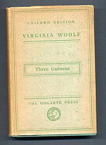 THREE GUINEAS (Uniform Edition): Virginia Woolf
