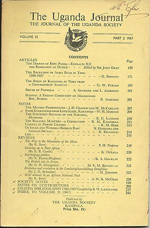 Uganda Journal: Part 2 1967; The Journal: Langland, B W