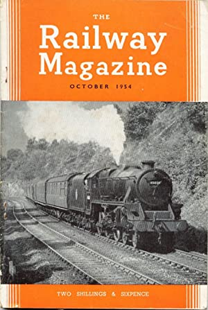 The Railway Magazine, October 1954 (includes The: Boscawen' and others: