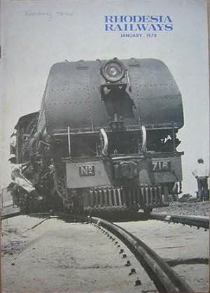 Rhodesia Railways, Vol 26, No 9, January: Cooke, W (Ed):