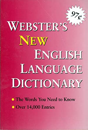 Webster's English Language Dictionary