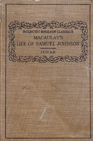 Macaulay's Life of Samuel Johnson: Lucas, Clinton W.