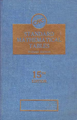 Standard Mathematical Tables Student Edition 15th Edition: Selby, Samuel M.