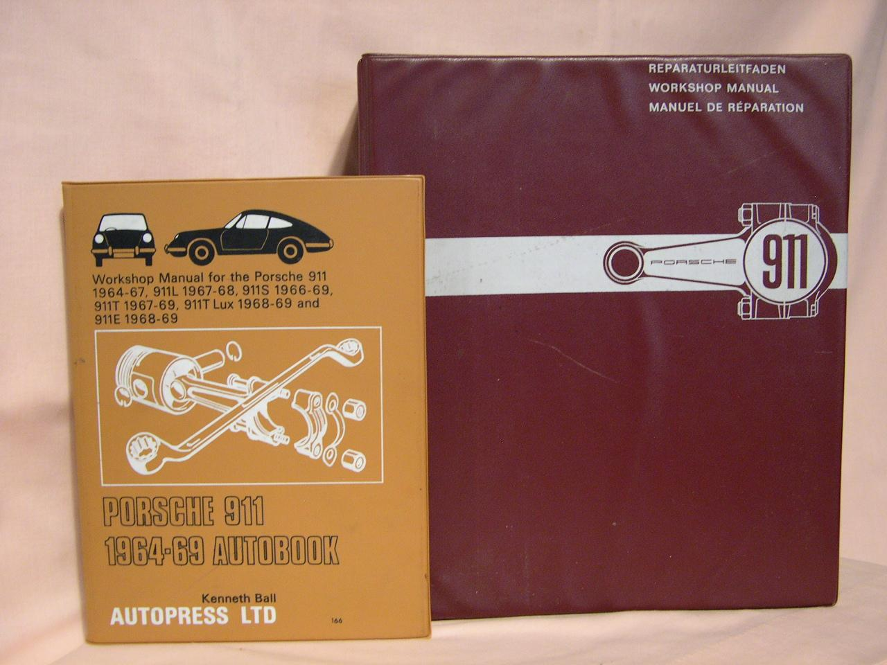 PORSCHE WORKSHOP MANUAL 911   [ ] [Hardcover]