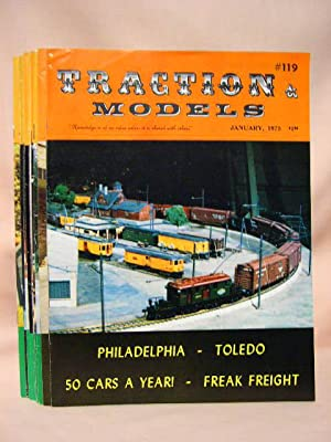 TRACTION & MODELS #s 119 THRU 130; JANUARY, 1975, VOLUME 10, NO. 11 THRU DECEMBER, 1975, VOLUME...