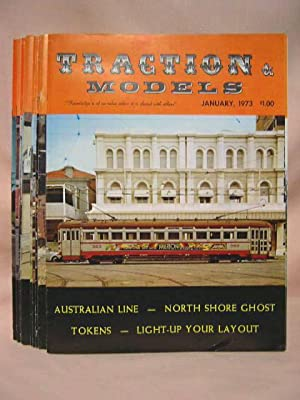TRACTION & MODELS, #s 95 THRU 106; JANUARY, 1973, VOLUME 8, NO. 11 THRU DECEMBER, 1973, VOLUME ...
