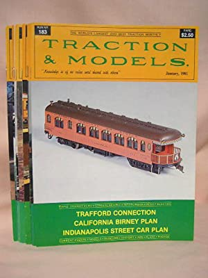 TRACTION & MODELS #s 183, 184, 185, 188 THRU 194, FOR THE YEAR 1981 [an incomplete run missing ...