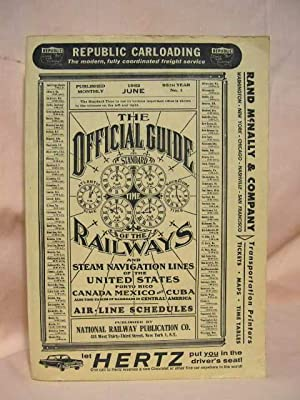 THE OFFICIAL GUIDE OF THE RAILWAYS; JUNE,