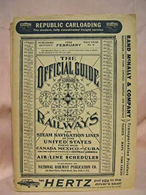 THE OFFICIAL GUIDE OF THE RAILWAYS; FEBRUARY,