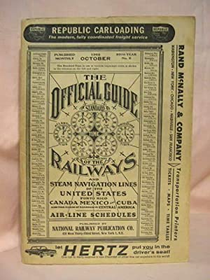 THE OFFICIAL GUIDE OF THE RAILWAYS; OCTOBER, 1962