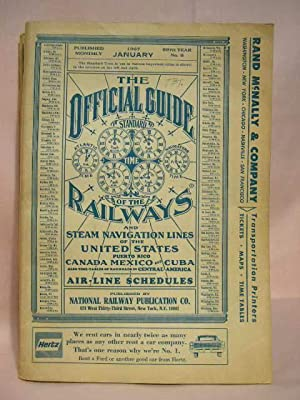 THE OFFICIAL GUIDE OF THE RAILWAYS; JANUARY,