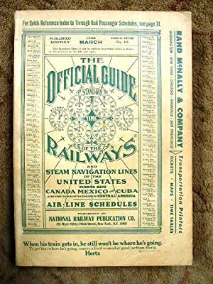 THE OFFICIAL GUIDE OF THE RAILWAYS; MARCH,