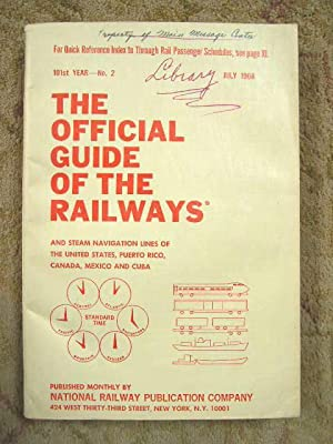 THE OFFICIAL GUIDE OF THE RAILWAYS; JULY,