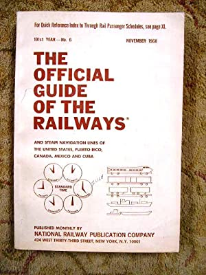 THE OFFICIAL GUIDE OF THE RAILWAYS; NOVEMBER,