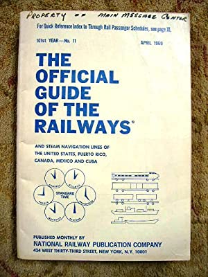 THE OFFICIAL GUIDE OF THE RAILWAYS; APRIL,