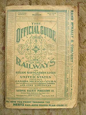 THE OFFICIAL GUIDE OF THE RAILWAYS; MARCH, 1957