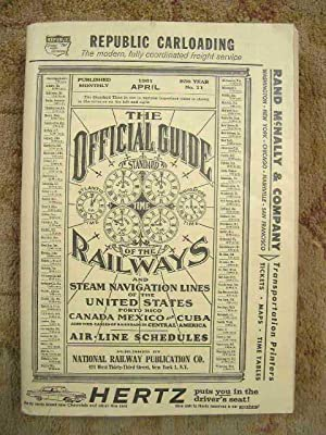 THE OFFICIAL GUIDE OF THE RAILWAYS; APRIL, 1961