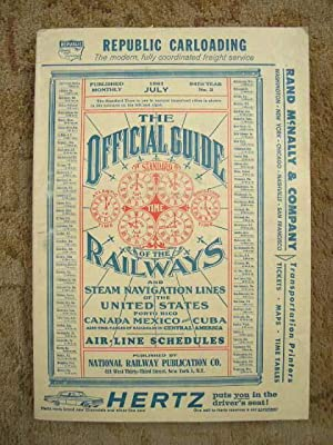 THE OFFICIAL GUIDE OF THE RAILWAYS; JULY, 1961