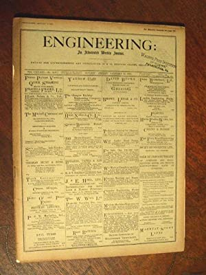 ENGINEERING: AN ILLUSTRATED WEEKLY JOURNAL, FRIDAY, JANUARY 22, 1932; VOL. CXXXIII - NO. 3445