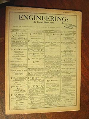ENGINEERING: AN ILLUSTRATED WEEKLY JOURNAL, FRIDAY, JANUARY 8, 1932; VOL. CXXXIII - NO. 3443