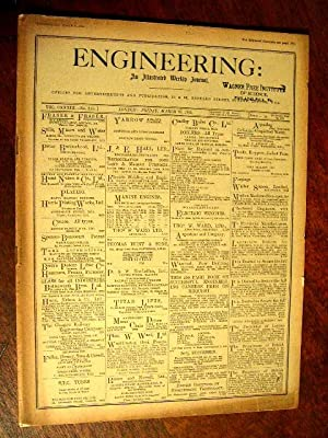 ENGINEERING: AN ILLUSTRATED WEEKLY JOURNAL, FRIDAY, MARCH 25, 1932; VOL. CXXXIII - NO. 3454