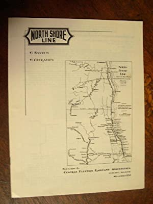C.E.R.A. BULLETIN ONE [1]: CHICAGO NORTH SHORE & MILWAUKEE RAILROAD, A GUIDE TO ITS SYSTEM AND ...
