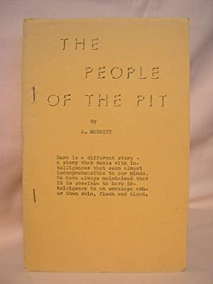 THE PEOPLE OF THE PIT: Merritt, A. [Abraham]