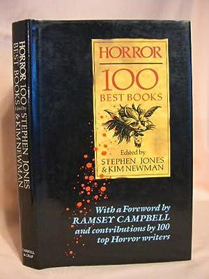 HORROR: 100 BEST BOOKS: Jones, Stephen, and Kim Newman, editors