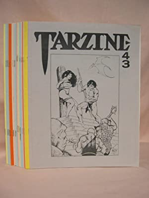TARZINE; Issues 43 thru 52, and 54 thru 62: Ross, Bill, editor (Edgar Rice Burroughs)