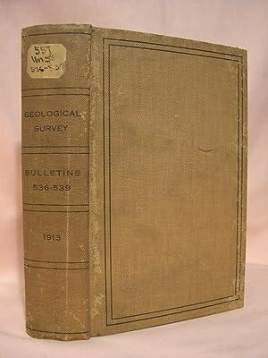 BULLETINS NOS. 536-539; 536] NOATAK-KOBUK REGION, ALASKA; 537] CLASSIFICATION OF PUBLIC LANDS; 538]...