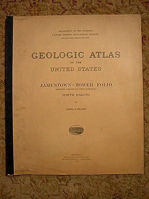 GEOLOGIC ATLAS OF THE UNITED STATES; JAMESTOWN-TOWER FOLIO, NORTH DAKOTA; FOLIO 168: Willard, ...