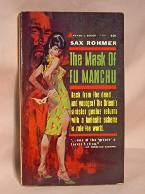 THE MASK OF FU MANCHU.: Rohmer, Sax.