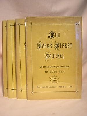 THE BAKER STREET JOURNAL; VOLUME 1, ISSUES 1,2,3,&4: Smith, Edgar W., editor