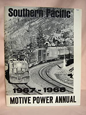 SOUTHERN PACIFIC MOTIVE POWER ANNUAL 1967-1968: Strapac, Joseph A.