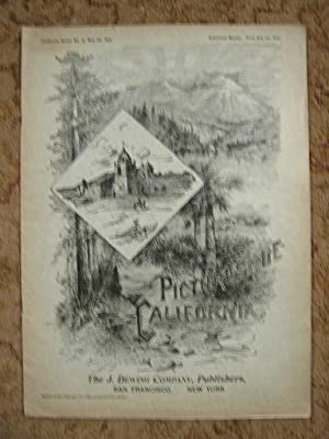 PICTURESQUE CALIFORNIA; NO. 15, MAY 28, 1894: Muir, John, editor