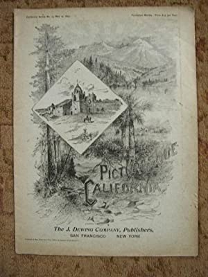 PICTURESQUE CALIFORNIA; NO. 13, MAY 14, 1894: Muir, John, editor