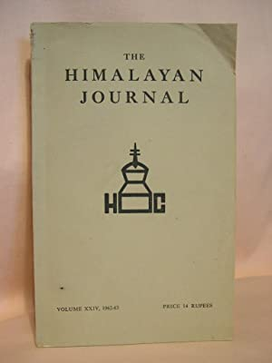 THE HIMALAYAN JOURNAL; RECORDS OF THE HIMALAYAN CLUB, VOL. XXIV, 1962-63: Biswas, Dr. K., editor