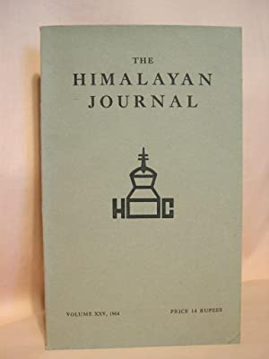 THE HIMALAYAN JOURNAL; RECORDS OF THE HIMALAYAN CLUB, VOL. XXV, 1964: Biswas, Dr. K., editor
