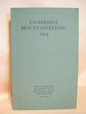 CAMBRIDGE MOUNTAINEERING 1934: Ramsey, J.A., editor