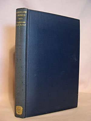 ABSALOM GRIMES:CONFEDERATE MAIL RUNNER: Grimes, Absalom, (M.M. Quaife, editor)