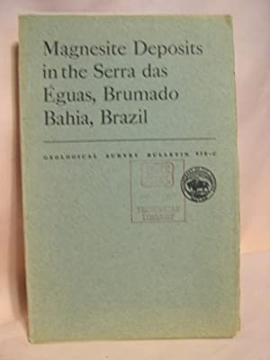 MAGNESITE DEPOSITS IN THE SERRA DAS ÉGUAS, BRUMADO, BAHIA, BRAZIL; GEOLOGICAL SURVEY ...