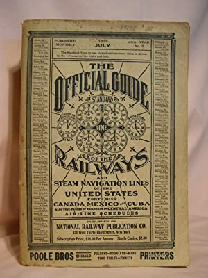THE OFFICIAL GUIDE OF THE RAILWAYS; JULY, 1932