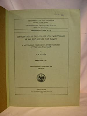 CONTRIBUTIONS TO THE GEOLOGY AND PALEONTOLOGY OF SAN JUAN COUNTY, NEW MEXICO, 3; NONMARINE ...