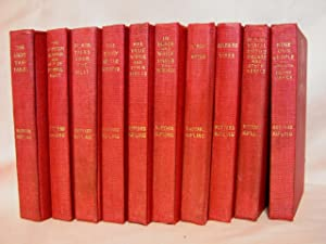 TEN VOLUMES; PLAIN TALES FROM THE HILLS;: Kipling, Rudyard