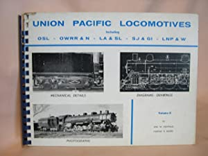 UNION PACIFIC LOCOMOTIVES, VOLUME II: Kratville, William W.,